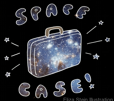 Space Case Sketch by Eliza Stein Illustration