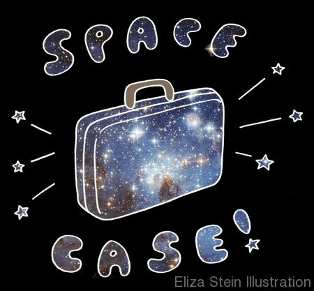 Space Case Sketch by Eliza Stein Illustration