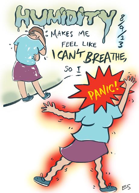 Anxiety Diary 4 Humidity