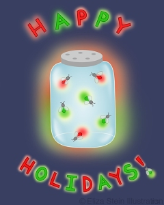 Before Xmas Illustration by Eliza Stein