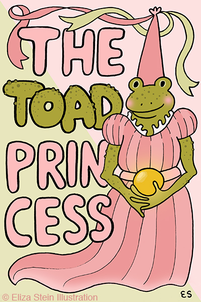 Toad Princess Cover
