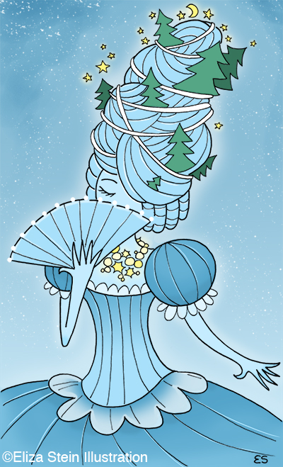 Ice Queen Illustration